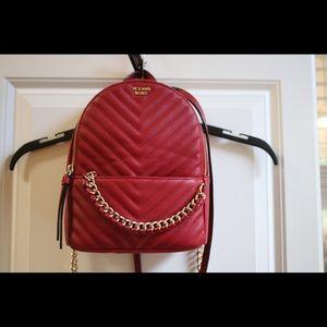 Victoria's Secret Pebble V-Quilt Backpack